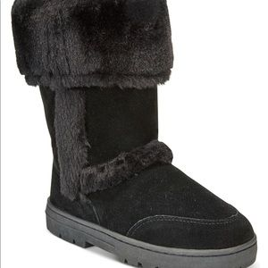 Style & Co Shoes - Genuine suede black boots!